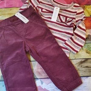 nwt gymboree outfit girls 18-24 months
